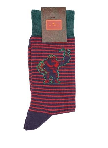 Etro Çorap Kırmızı